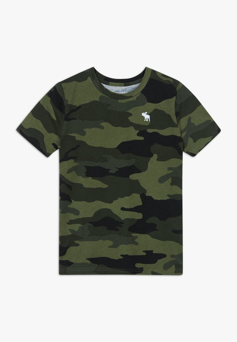 Abercrombie & Fitch - TEE  - T-shirt con stampa - khaki