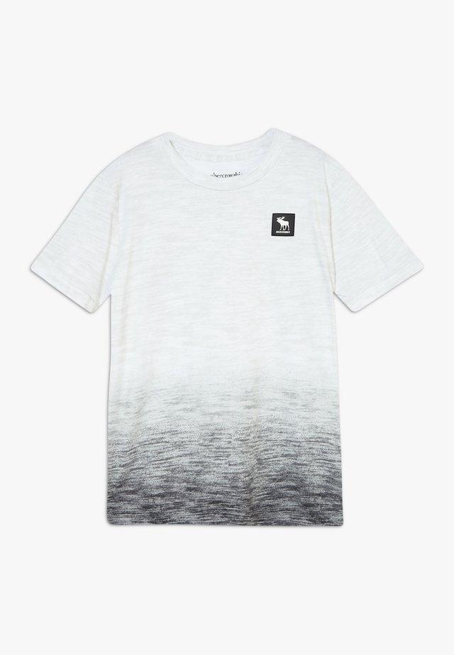 CHASE PATTERN - T-shirt med print - grey