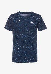 Abercrombie & Fitch - BASIC NOVELTY  - Camiseta estampada - blue - 0