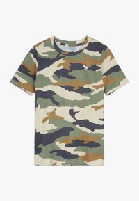 Abercrombie & Fitch - BASIC NOVELTY  - Print T-shirt - khaki - 0