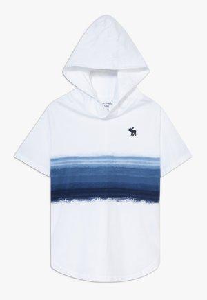 HOODS - Print T-shirt - navy