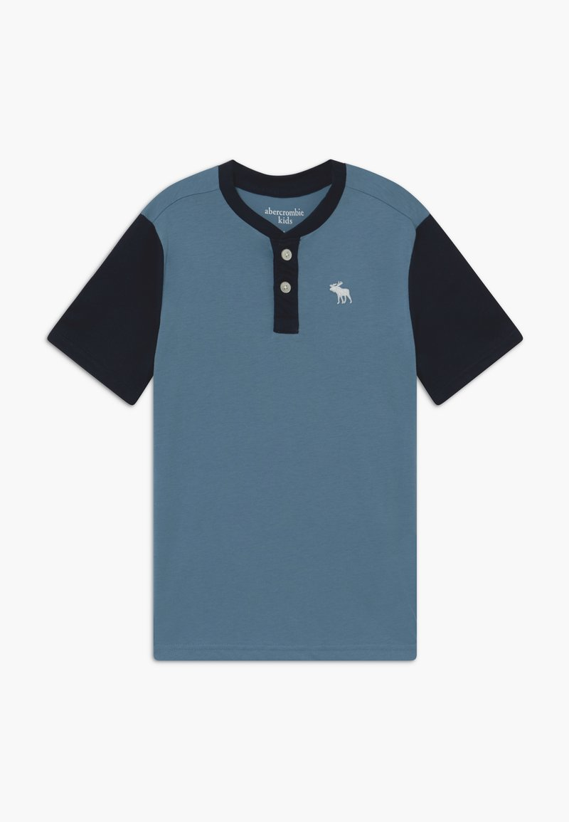 Abercrombie & Fitch - Print T-shirt - blue shadow