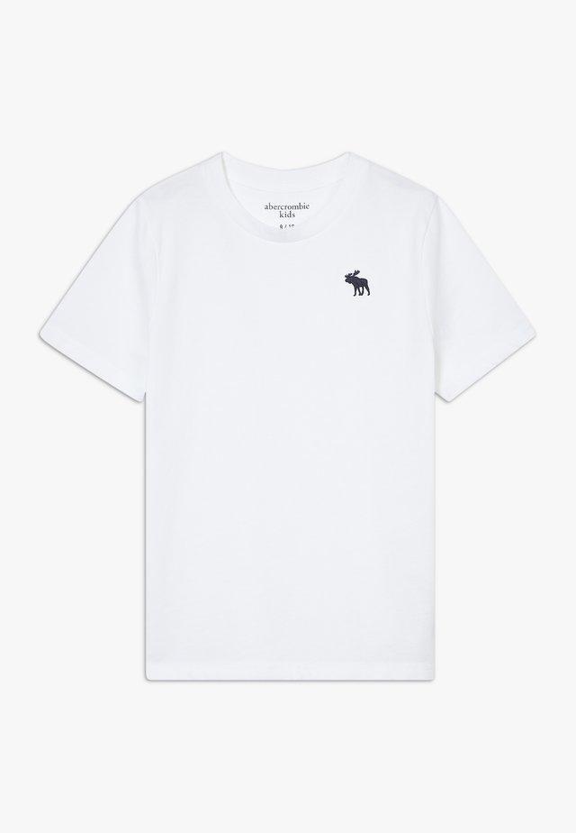 BASIC SOLID TEE - T-shirt basic - white
