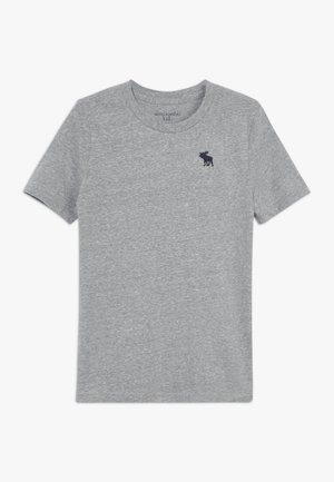 BASIC SOLID TEE - Camiseta básica - grey
