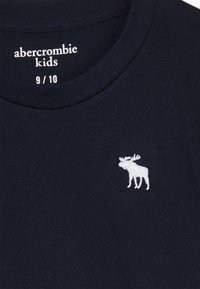 Abercrombie & Fitch - BASIC SOLID TEE - Jednoduché triko - navy - 3