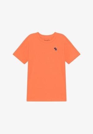 BASIC SOLID TEE - Basic T-shirt - orange