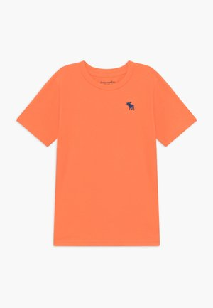 BASIC SOLID TEE - Jednoduché triko - orange