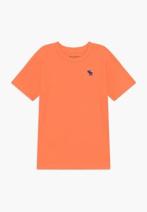 BASIC SOLID TEE - T-shirt basique - orange