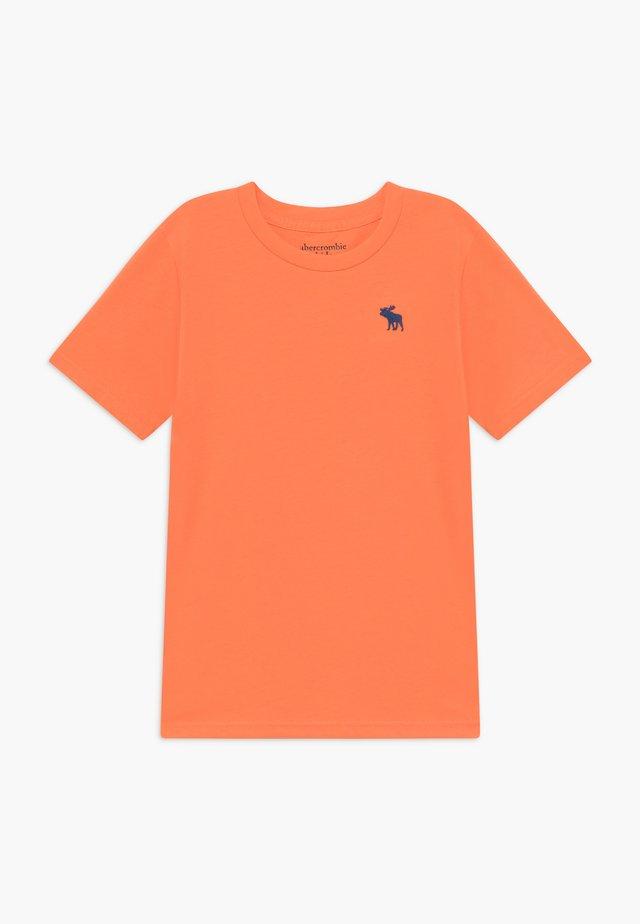 BASIC SOLID TEE - T-Shirt basic - orange