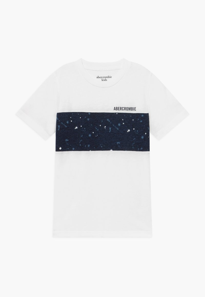 Abercrombie & Fitch - BASIC NOVELTY  - Print T-shirt - white