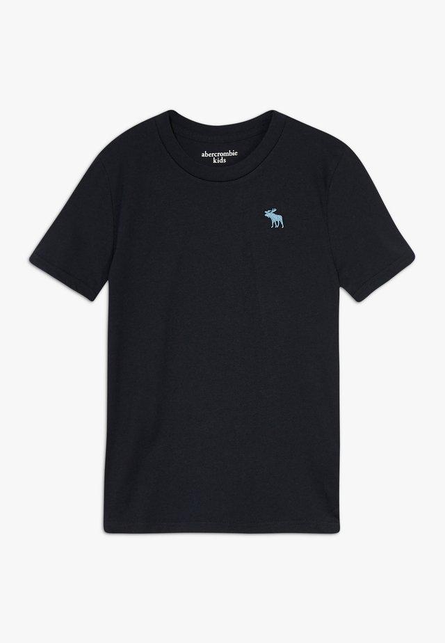 BASIC CREW - Basic T-shirt - black