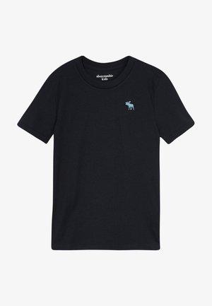 BASIC CREW - Jednoduché triko - black