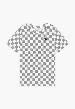 TEE PATT - T-shirt imprimé - black/white
