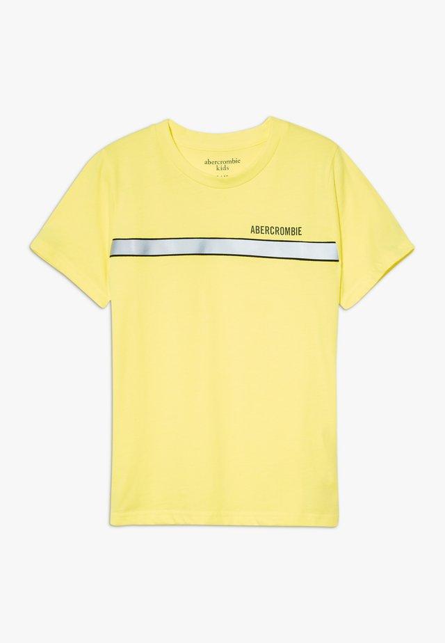 TEE TAPING  - T-Shirt print - yellow