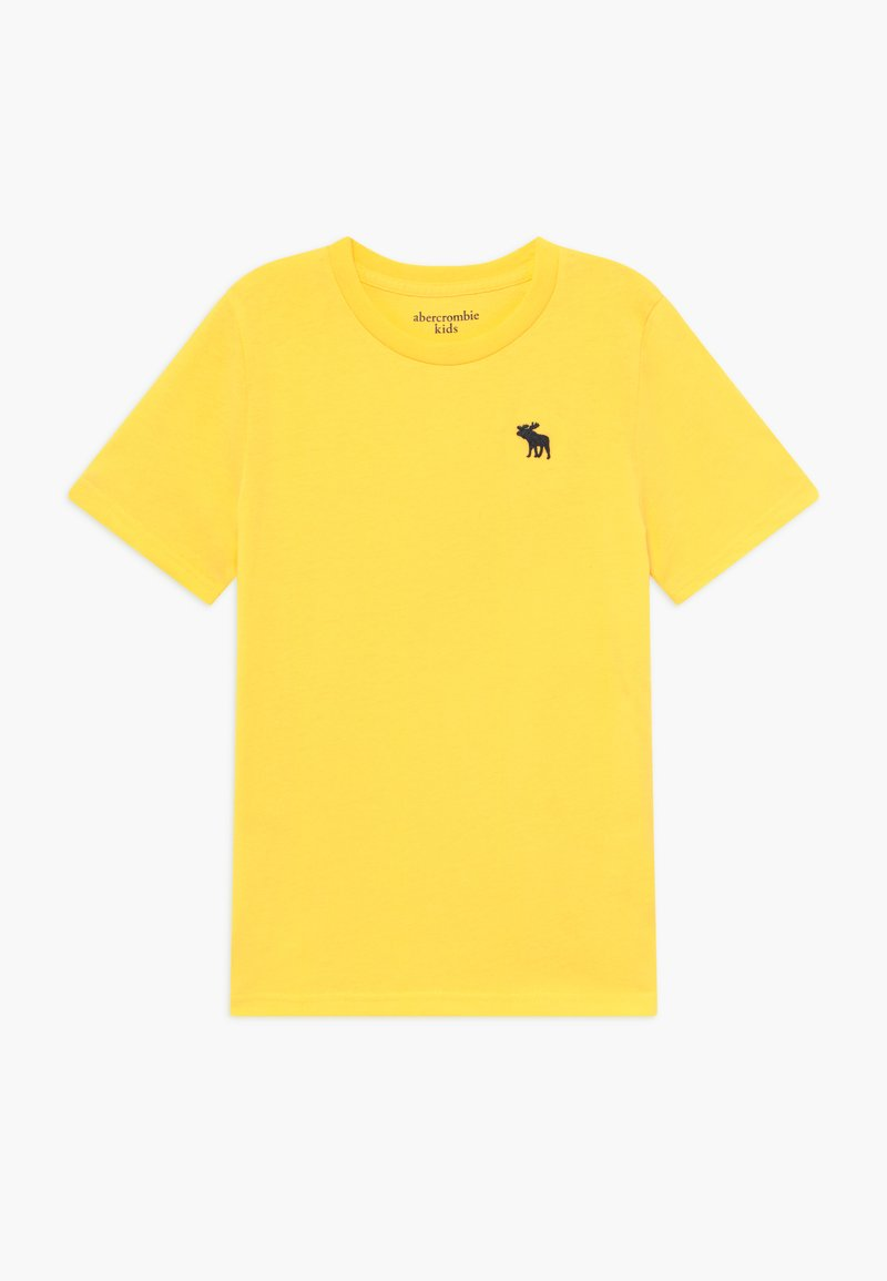 Abercrombie & Fitch - CREW - T-shirt basic - yellow