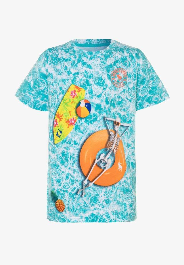 PHOTOREAL - Print T-shirt - blue