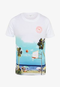 Abercrombie & Fitch - PHOTOREAL - Print T-shirt - white - 0