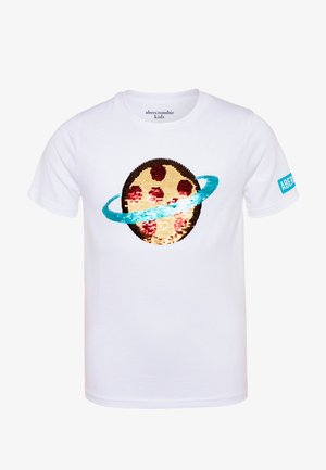 INTERACTIVE - T-shirts med print - white/multicolor