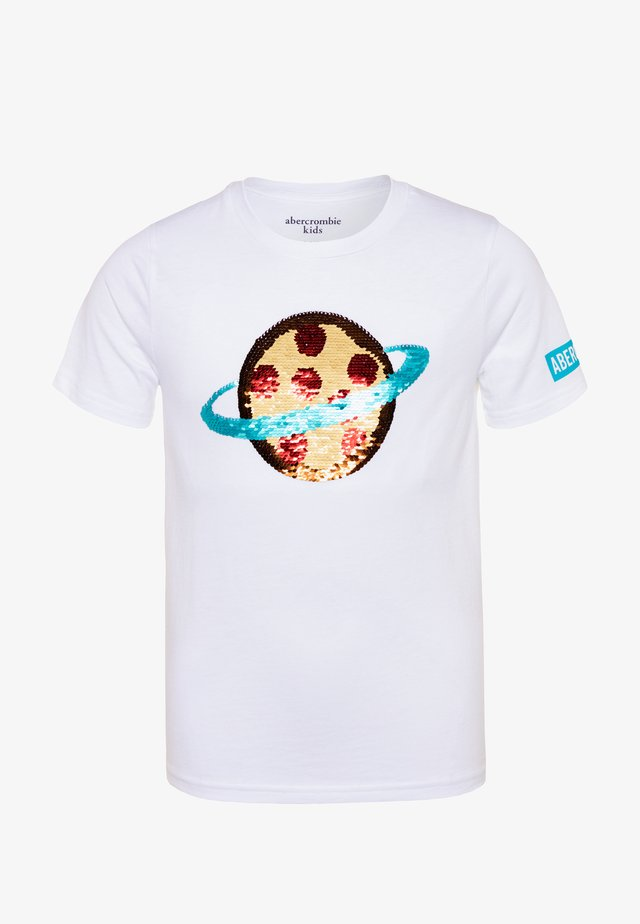 INTERACTIVE - Print T-shirt - white/multicolor