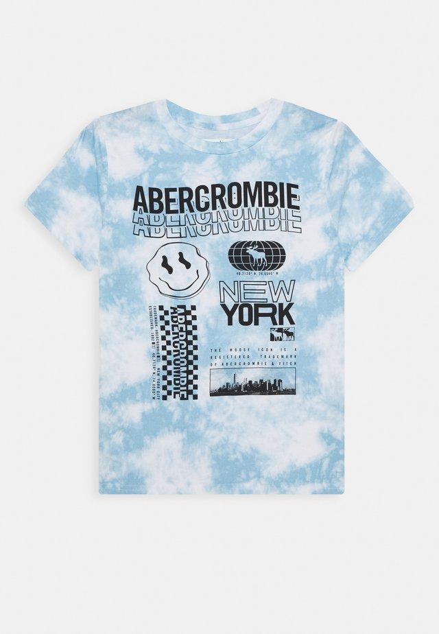 FASH TEE - Print T-shirt - blue