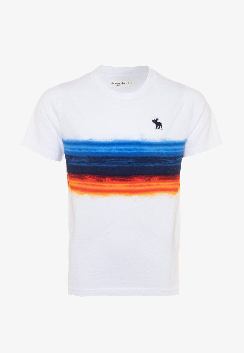 Abercrombie & Fitch - PATTERN TEE  - Print T-shirt - white