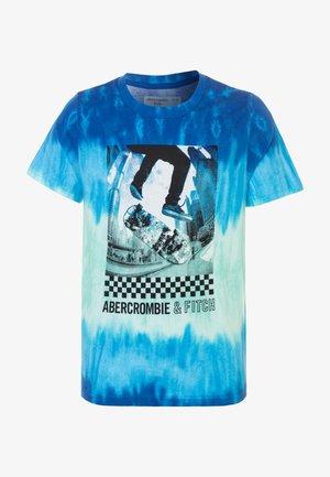 TERTIARY PRINT LOGO  - T-Shirt print - blue