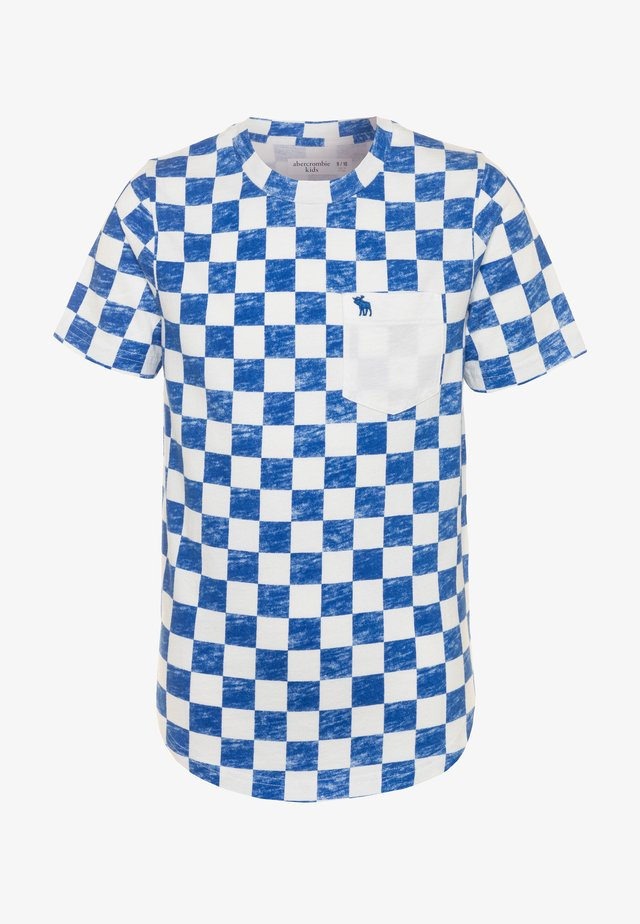 FASHION TEE - T-shirt print - blue