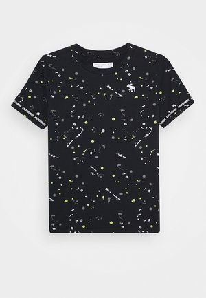 FASHION - Print T-shirt - black