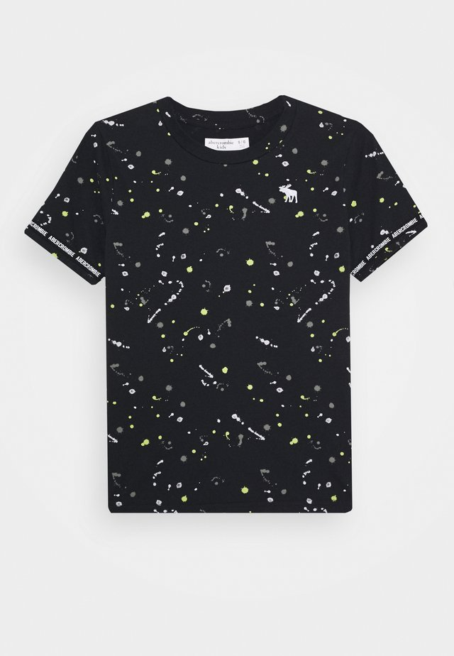 FASHION - Camiseta estampada - black