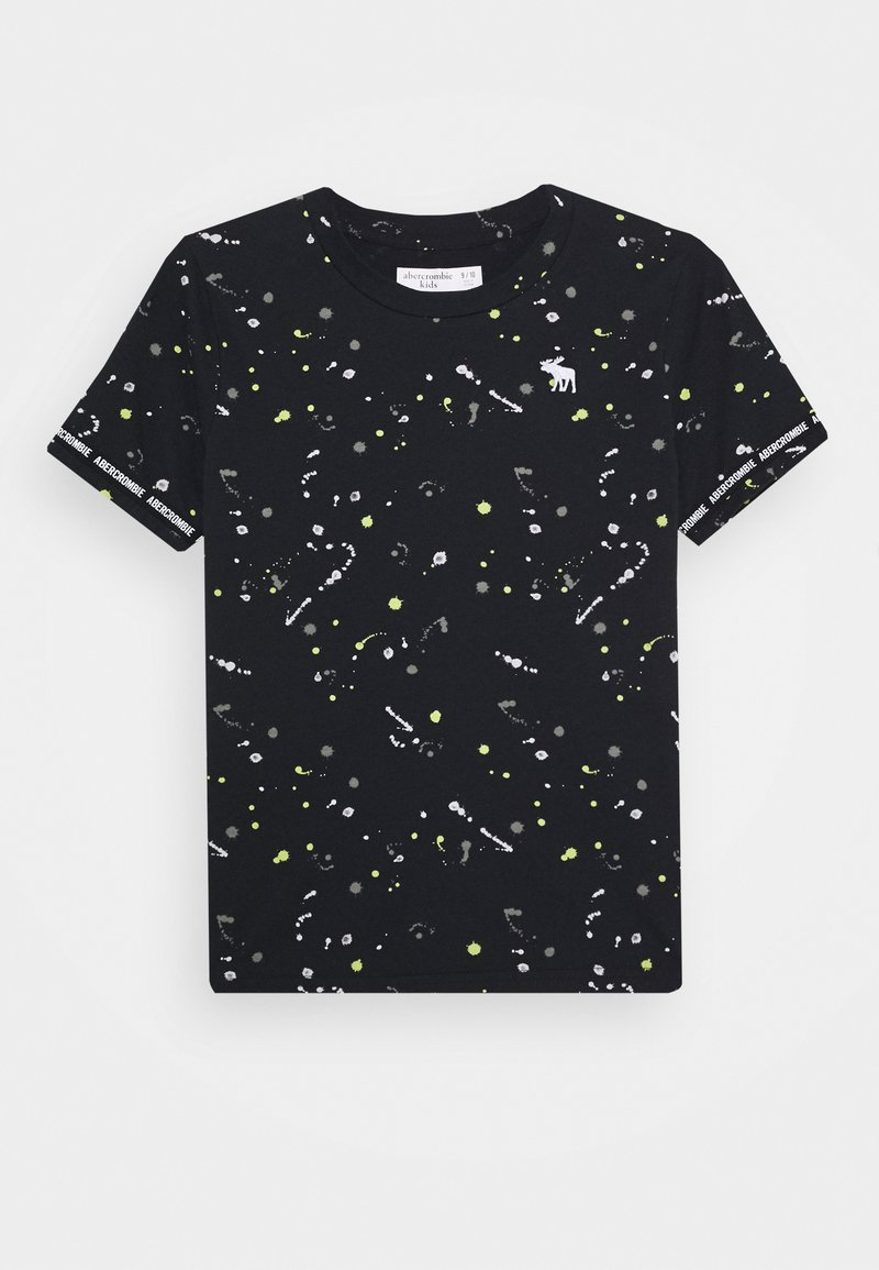 Abercrombie & Fitch - FASHION - Print T-shirt - black