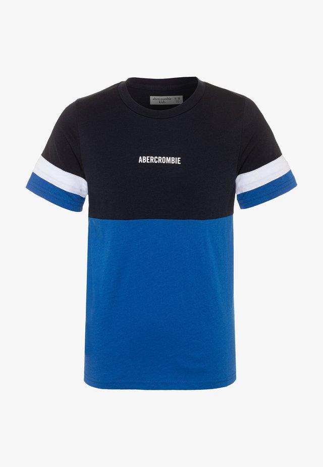 SOLID BASIC TEES  - T-shirts basic - navy