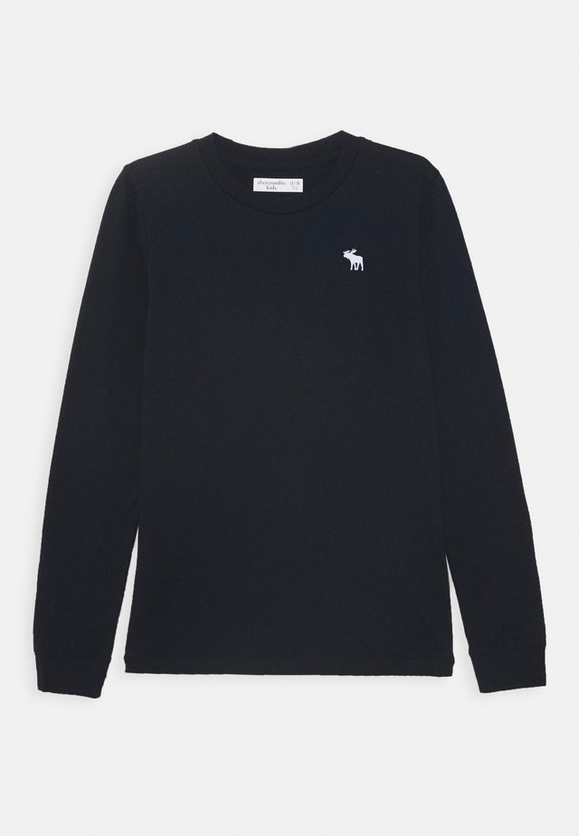BASIC - Topper langermet - navy