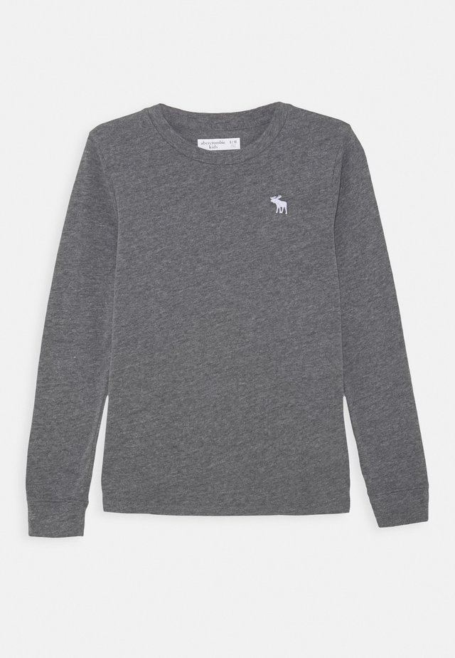 BASIC - Long sleeved top - grey