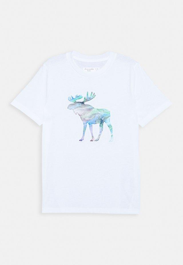 INTERACTIVE - Camiseta estampada - white