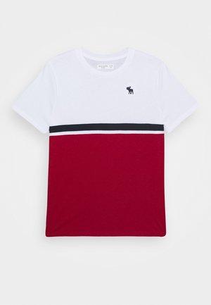 COLORBLOCK - Print T-shirt - white