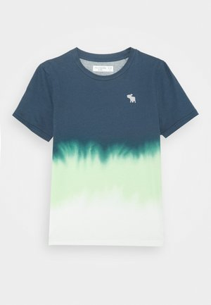 NOVELTY ELEVATED - Camiseta estampada - blue/green/white