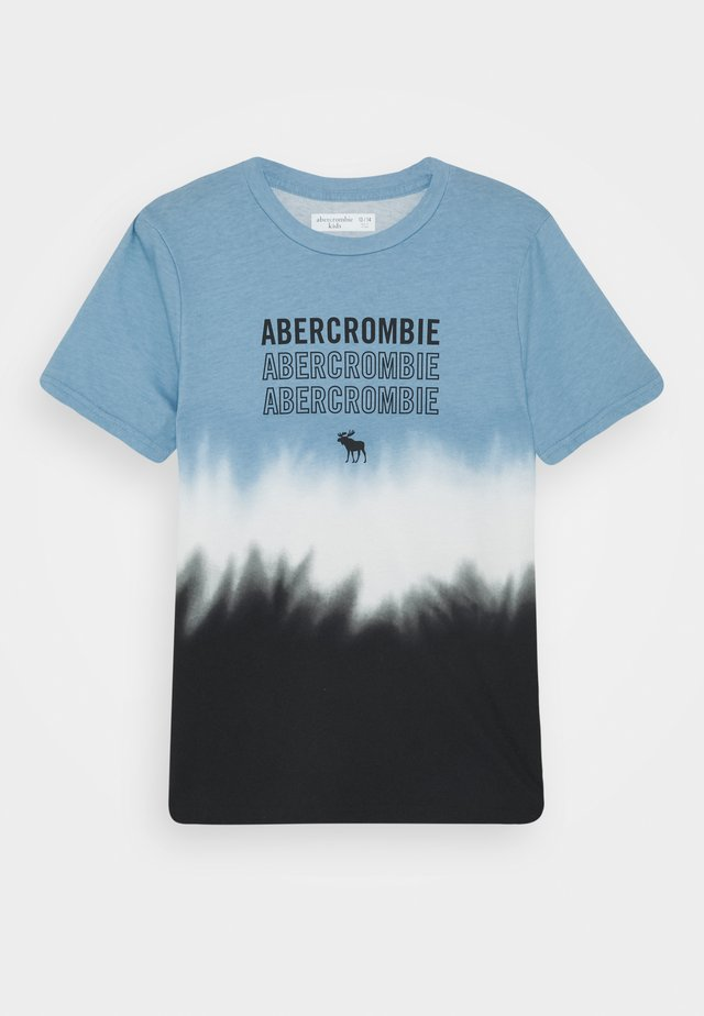LOGO - Print T-shirt - blue