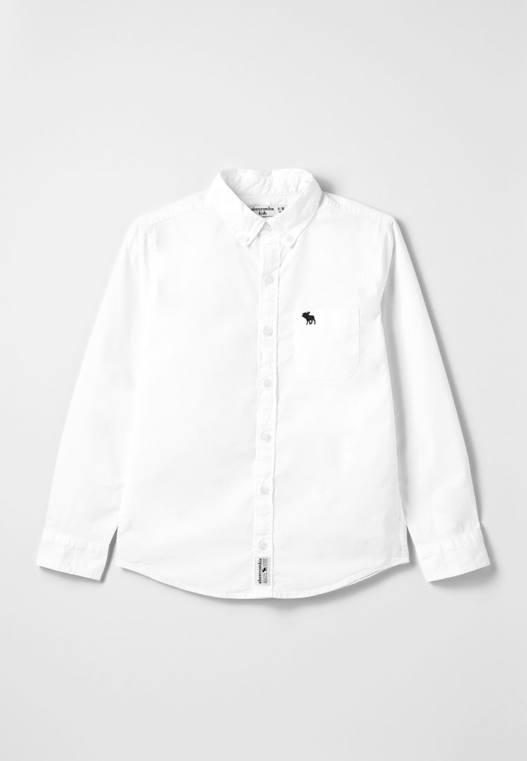 Abercrombie & Fitch - Hemd - white solid