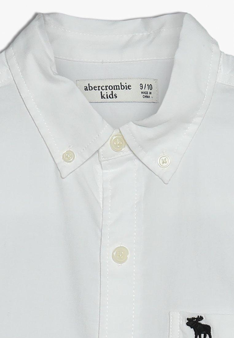 Abercrombie & Fitch PREPPY Skjorte white solid Zalando.no