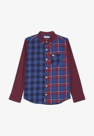 COLORBLOCK  - Shirt - red/dark blue