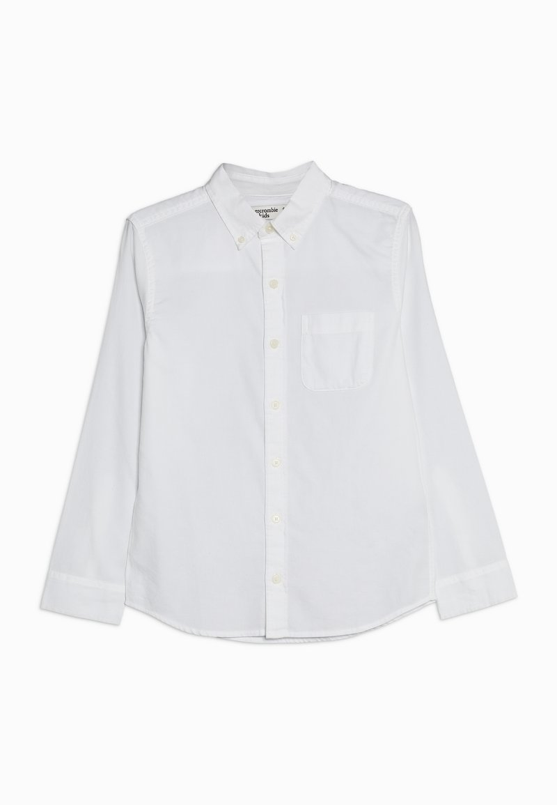 Abercrombie & Fitch - SOLID UNIFORM - Overhemd - white solid