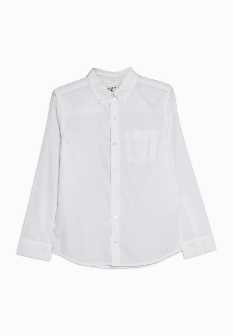 Abercrombie & Fitch - SOLID UNIFORM - Košile - white solid