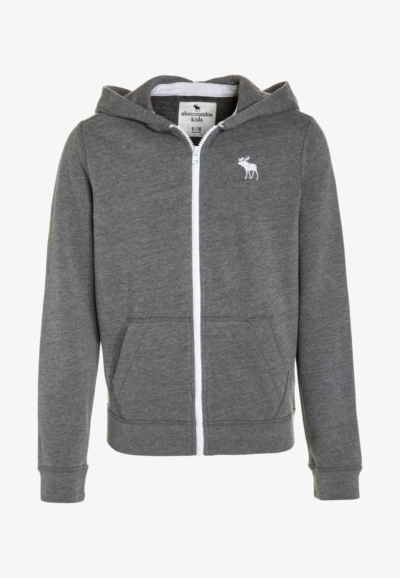 Abercrombie & Fitch - ICON - Zip-up hoodie - light grey