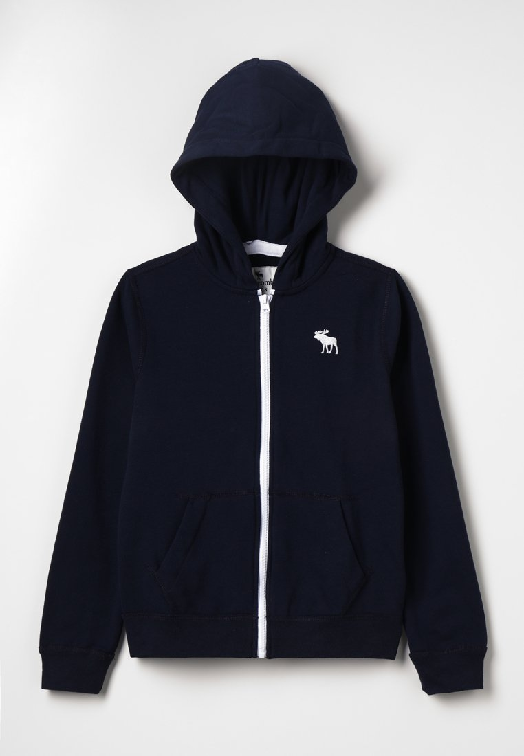 Abercrombie & Fitch - ICON - Hoodie met rits - navy