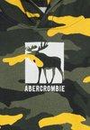 Abercrombie & Fitch - LOGO  - Mikina skapucí - khaki