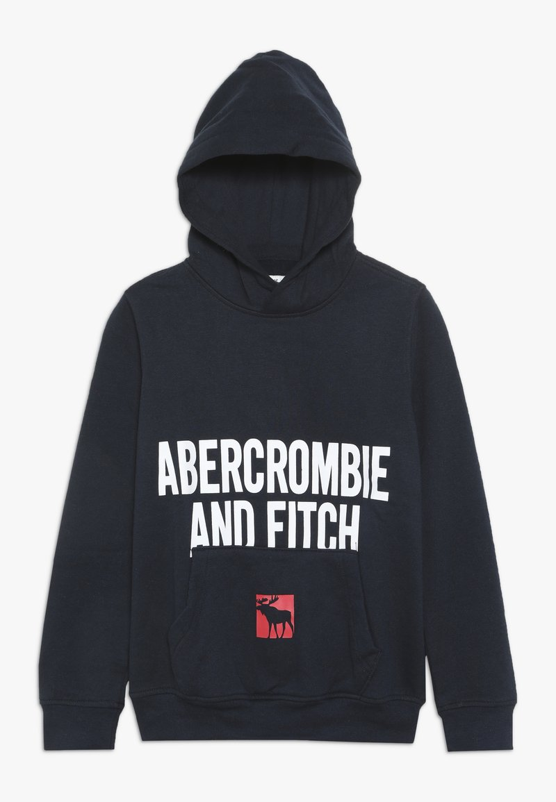 Abercrombie & Fitch - LOGO CORE  - Hoodie - navy