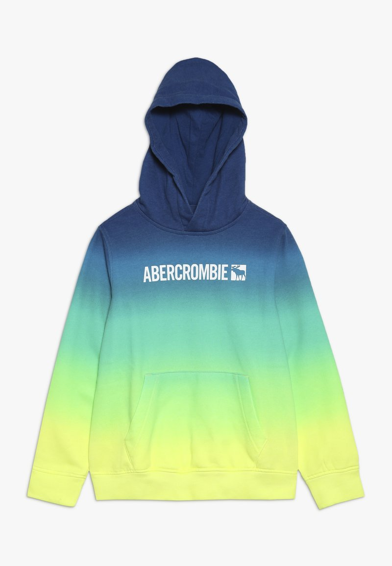 Abercrombie & Fitch - LOGO CORE  - Kapuzenpullover - blue/green