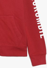 Abercrombie & Fitch - LOGO CORE - veste en sweat zippée - red - 2