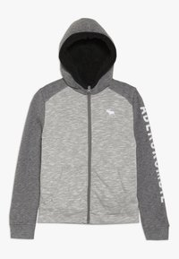 Abercrombie & Fitch - Fleecová bunda - light grey - 0