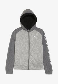 Abercrombie & Fitch - Fleecová bunda - light grey - 2